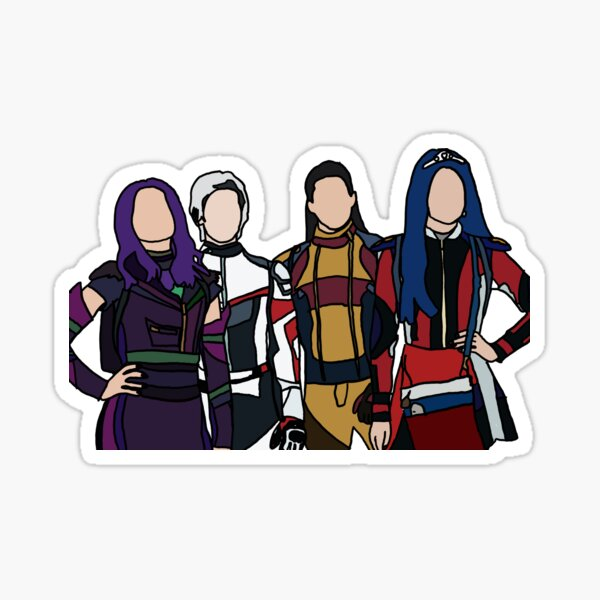 Descendants Sticker