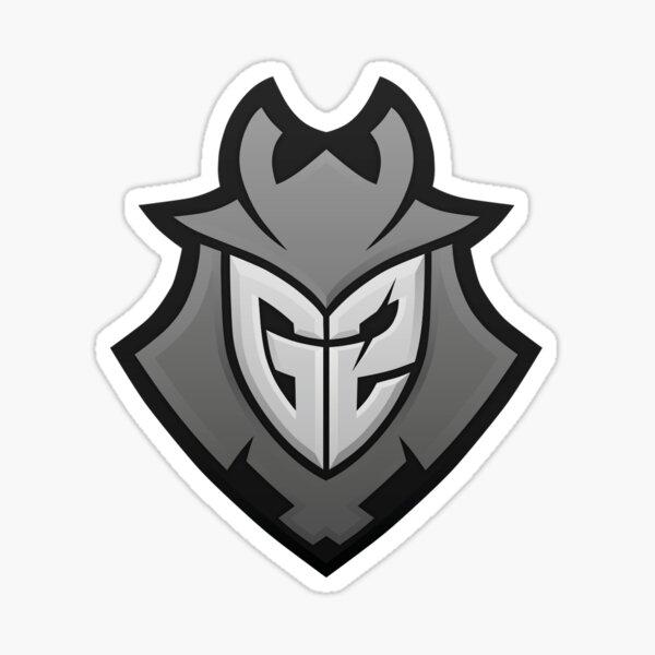 G2 Esports Grey Pegatina