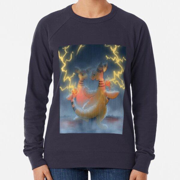 Dancing with thunder Lightweight Sweatshirt