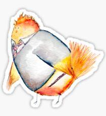Wren Weasely- Harry Potter Nerdy Bird Sticker
