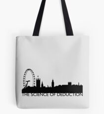 The Science Of Deduction - BLACK Tote Bag