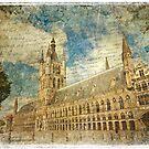 Cloth Hall - Ypres, Belgium | Forgotten Postcard by Alison Cornford-Matheson