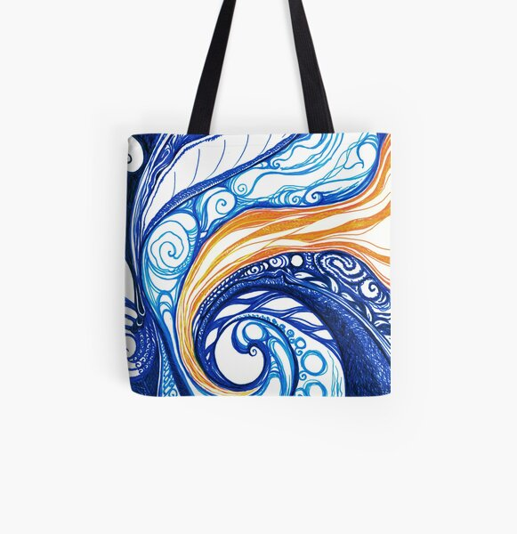 Boundless All Over Print Tote Bag