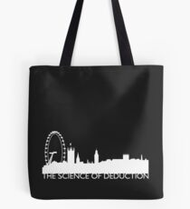 The Science Of Deduction - WHITE Tote Bag