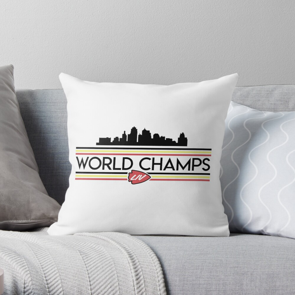 Champs Skyline Throw Pillow