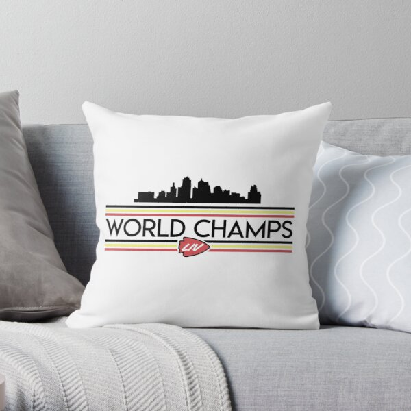 Champs Skyline Throw Pillow