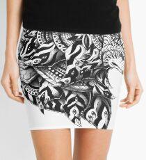 Wolf Profile Mini Skirt