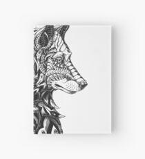 Wolf Profil Notizbuch