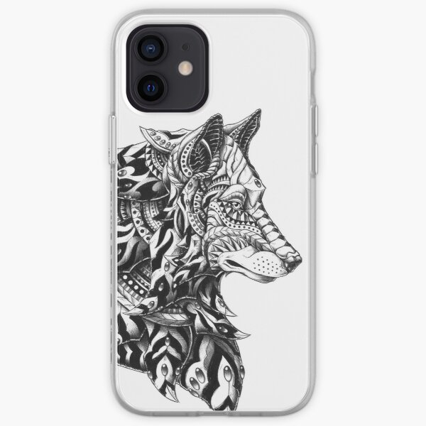 Wolf Profile iPhone Soft Case