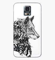 Wolf Profile Case/Skin for Samsung Galaxy