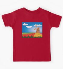 Windmill and Tulips 2 Kids Clothes