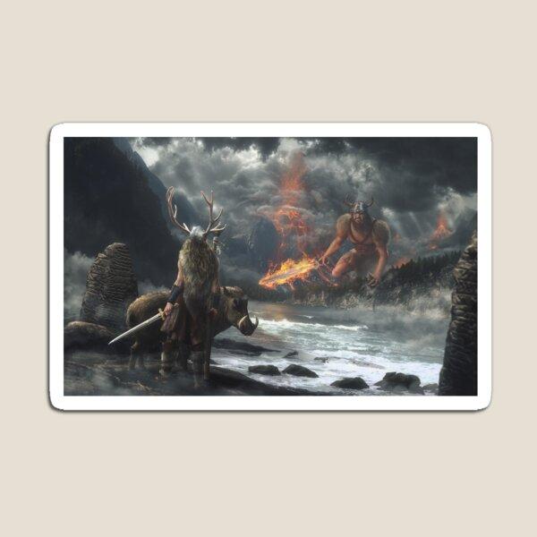The Swarthy One || Surtr vs Freyr Magnet