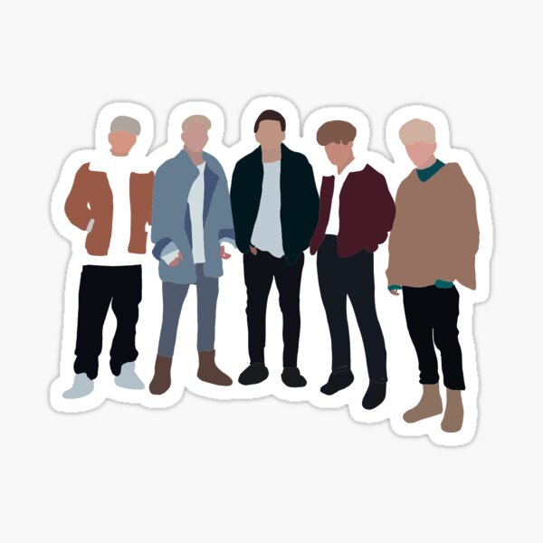 why don't we chills  Sticker