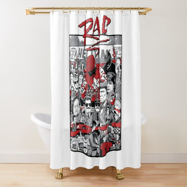 Rad Poster - Special 33rd Anniversary Edition Shower Curtain