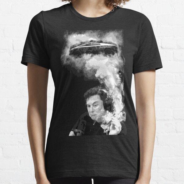 Elon Musk and Cybertruck Essential T-Shirt