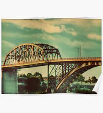 The Peace Bridge Poster