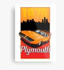 1970 Plymouth Superbird Metal Print