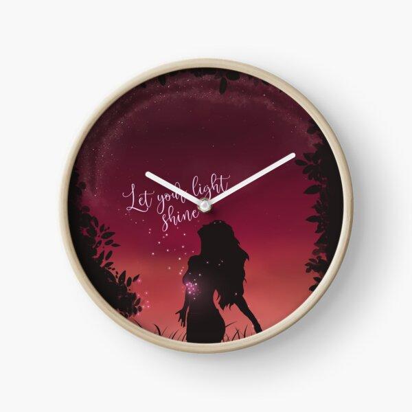 Let Your Light Shine Horloge