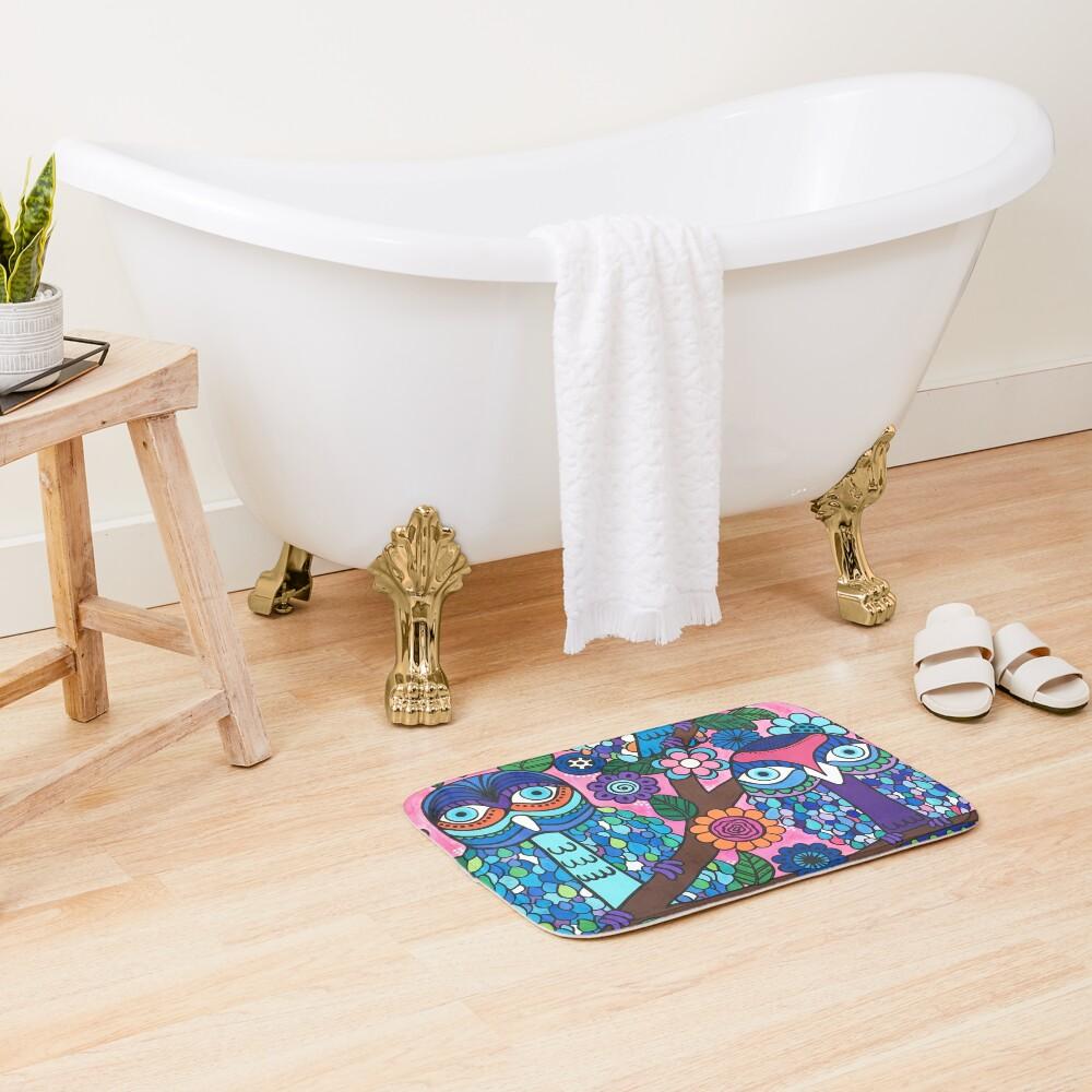 3 Owls Bath Mat