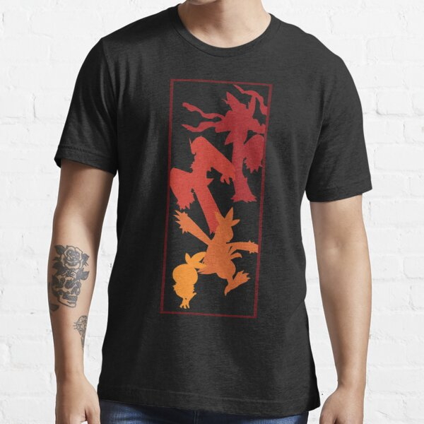 Torchic Evolutionary Chain  Essential T-Shirt
