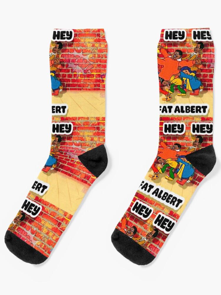 Fat Albert Custom Socks