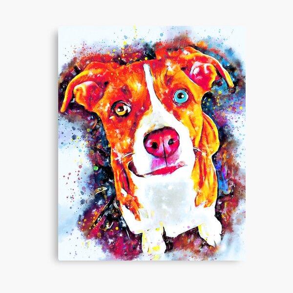 Custom dog Portraits Canvas Print