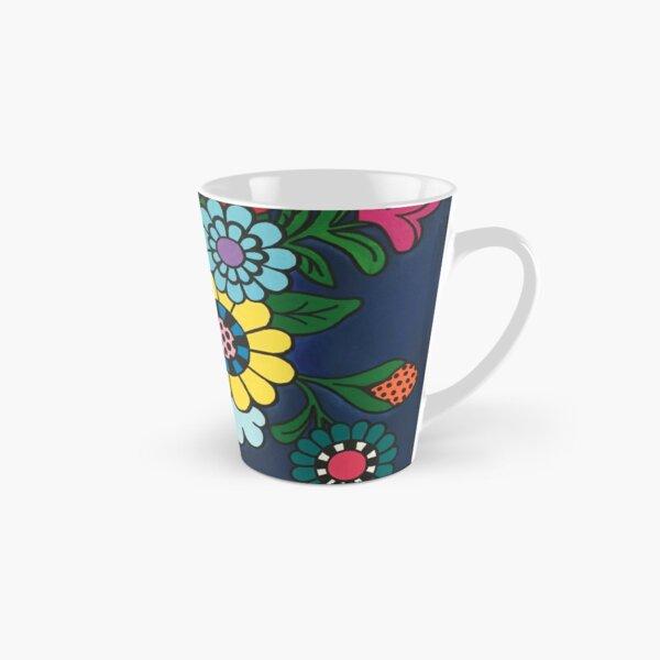 Checkered Bouquet Tall Mug