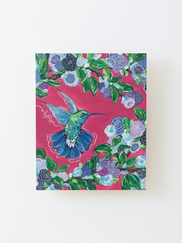 Alternate view of Hummingbird Mounted Print