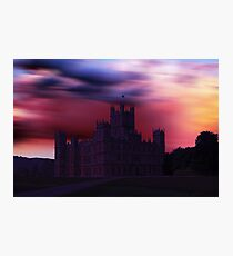 Downton Abbey Dusk Photographic Print