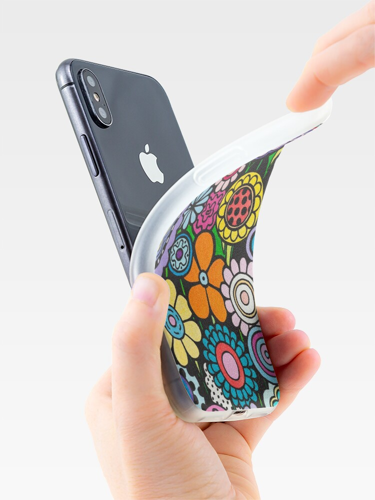 Alternate view of Polka Dot Bouquet iPhone Case & Cover