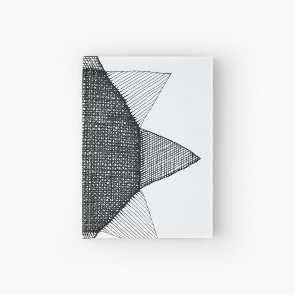 Construct Art Line Drawing 45 Hardcover Journal