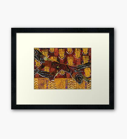 Angels Along The Way Framed Print