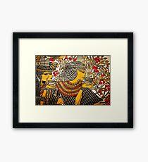 Papyrus Pharaoh Framed Print