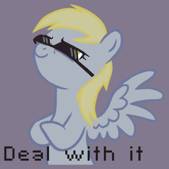 TShirtGifter presents: Deal with Derpy Hooves