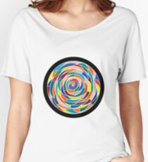 Swirling Abyss Women's Relaxed Fit T-Shirt