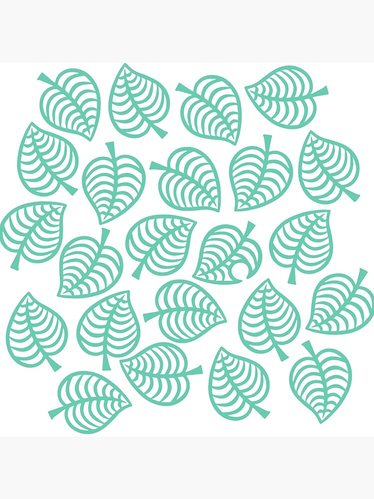 animal crossing new horizons leaf pattern