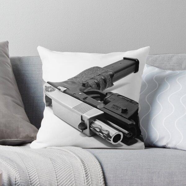 Custom Gun Throw Pillow