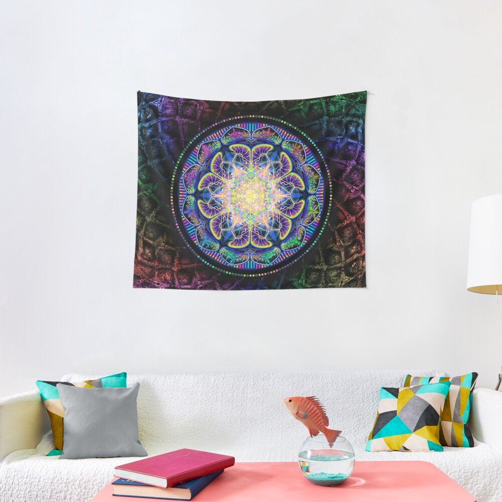 TechnoColor Captivation Tapestry