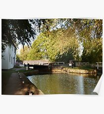 Evening at Gringley Lock Poster