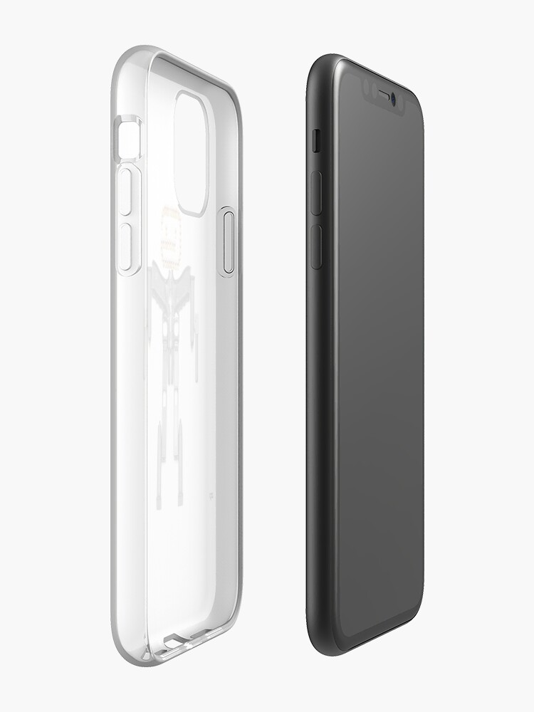 Alternate view of Glockman!  iPhone Case & Cover