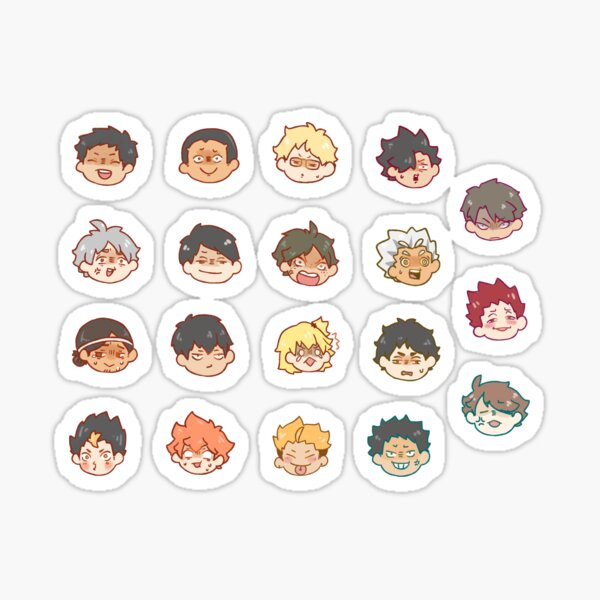HAIKYUU OOPS Sticker