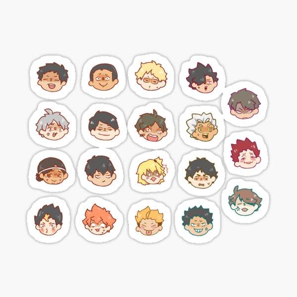 HAIKYUU OOPS Sticker