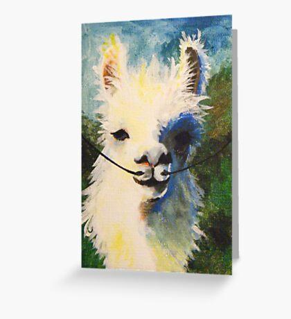 Dali Llama Greeting Card
