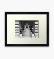 Canon close up Framed Print