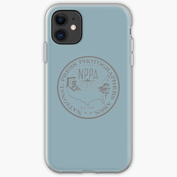 NPPA OLD SCHOOL LOGO iPhone Soft Case