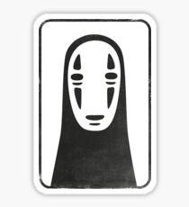 Kaonashi style Sticker