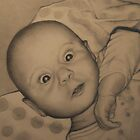 Baby Portrait No.2 by Pam Humbargar