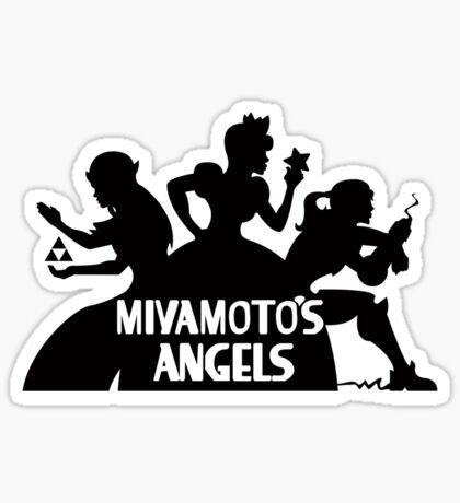 Miyamoto's Angels Sticker