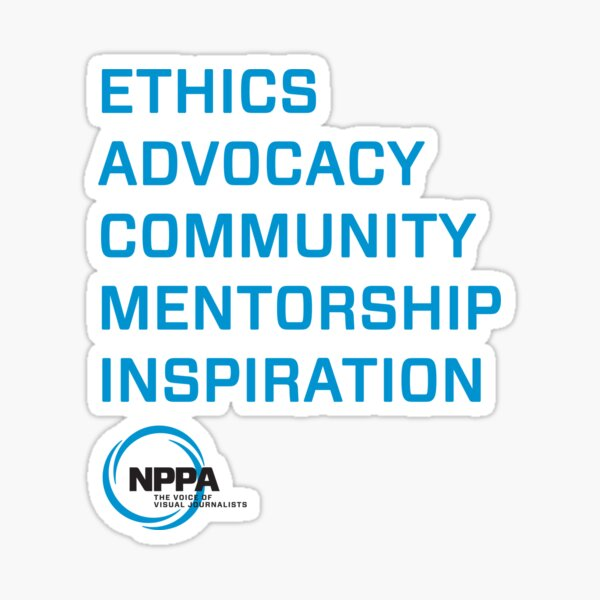 NPPA words Sticker