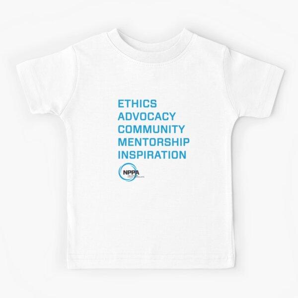 NPPA words Kids T-Shirt